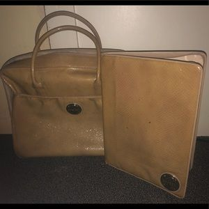 Authentic Oroton Laptop Bag & Folder